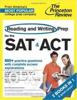 Reading and Writing Prep for the SAT & ACT: 2 Books in 1 (College Test
