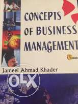 concepts of business management