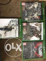 4 Games for Xbox one