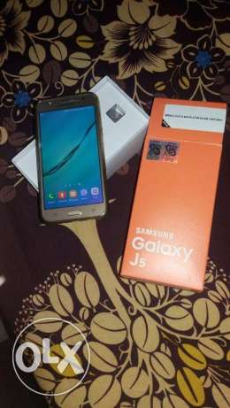 Samsung galaxy j5 used 2 month remain warranty 10 month