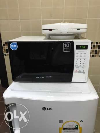 Samsung Microwave & Kenwood Toaster in excellent condition