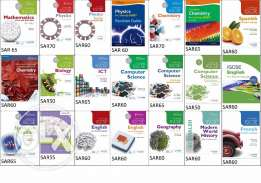 New IGCSE, Olevel & Alevel Books for sale