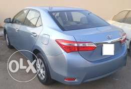 COROLLA AUTOMATIC -2015 ocean Blue color