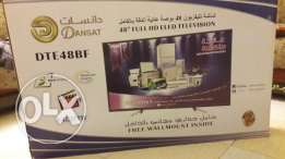 Dansat led tv 48 inch FHD tv only four months used .