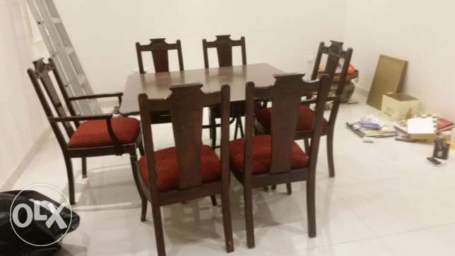 tabel + 6 chairs الرياض -  1
