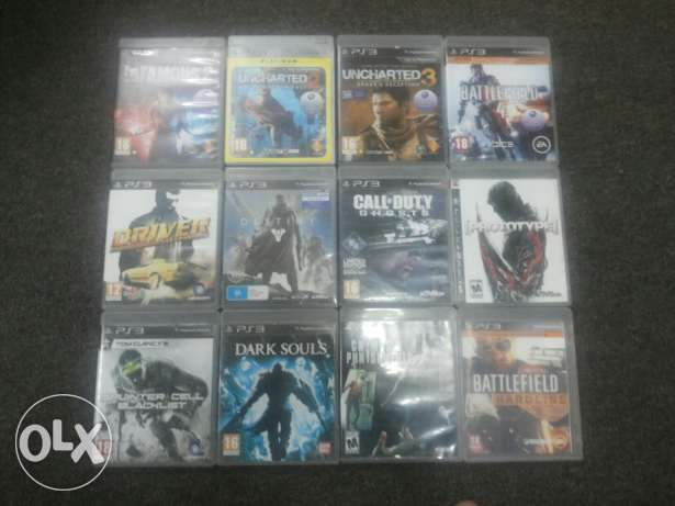 PS3 Games For sale. الرياض -  1