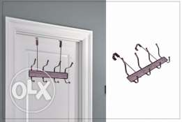 (No Screw ) Clothes Hanger direct fix on door