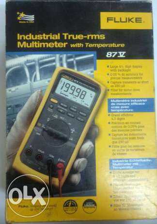 FLUKE Industrial True-rms Multimeter 87-V