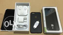 iPhone 6 Black with 128 GB iFlash Plus Power Bank Cover.