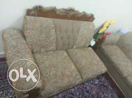 Sofa set with middle table