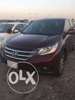 Honda CR-V 2013 model in excellent cndition,low mileage & co. maintain