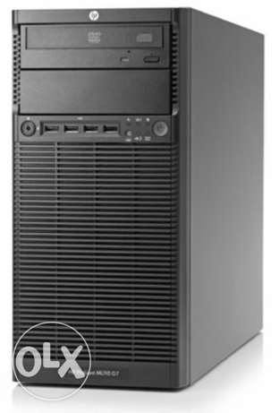 Desktop hp PROLIANT ML110 G7 server intel xion
