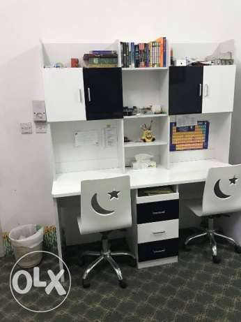 Study table with 2 chairs