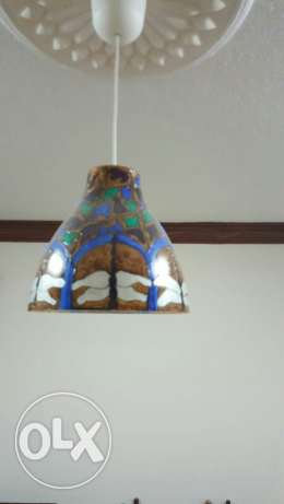Hand painted lamp shades for sale الرياض -  4