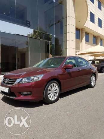 ***Honda Accord 2013 – Basque Red Pearl in Excellent Condition***