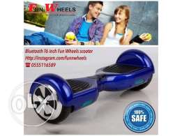 blue bluetooth 6 inch funwheels electric scooter - سكوتر كهربائي