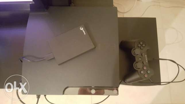 Ps3-one joystik-500 gb external hard