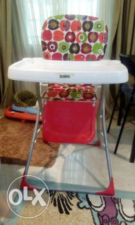 High chair for babies as excellent as new