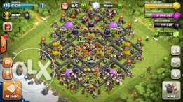 Clash of clans townhall lvl 10
