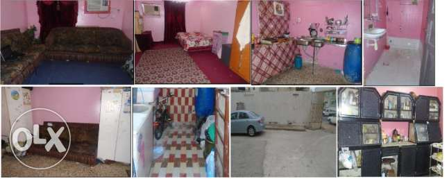 02 Bed Room Flat Availbe for Rent with some House Ihold Items