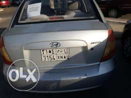 Hyundai accent 2010 model Automatic SAR 13500