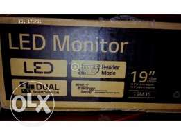 LG new monitor for sale LEDشاشة كمبيوتر