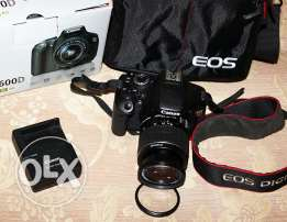 Camera canon 600d (Rebel t3i) for sale 600 دي كاميرا كانون