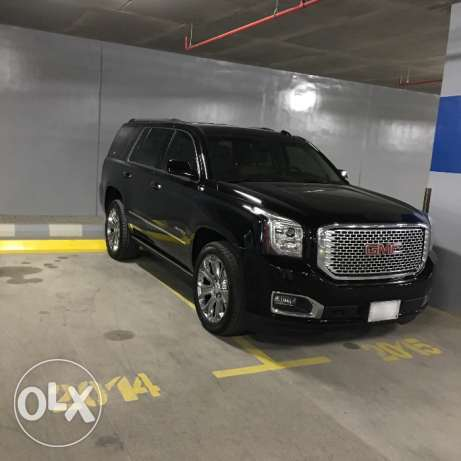 GMC Yukon Denali للتنازل (transfer lease contract)