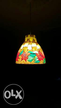 Hand painted lamp shades for sale الرياض -  3
