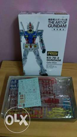 RG 1/144 Gundam RX 78-2 Art of Gundam Clear Ver.