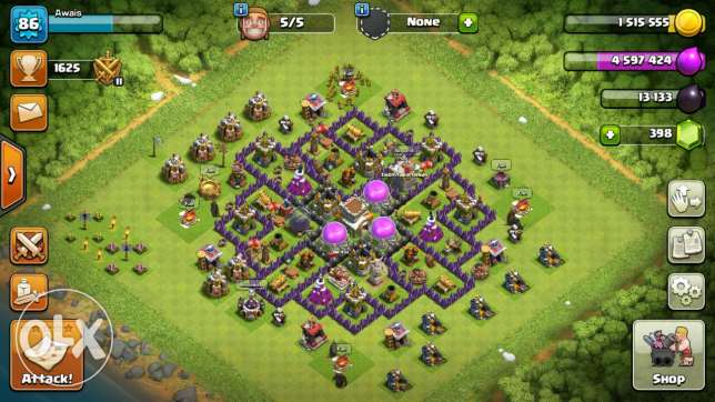 Hi am selling my Clash if clan account townhall 8