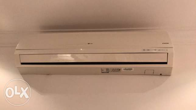 Split AC LG Fresh in excellent condition