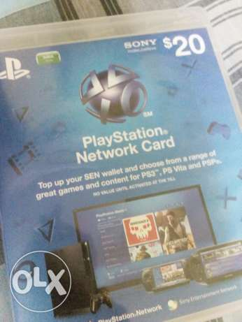 Psn 20 dollor