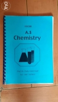 AS and A level chemistry review notes by prof. Fathy Abdel Galil