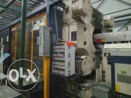 Krauss Maffei 2300ton plastic injection molding machine