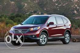 Honda CRV 2014 for give up