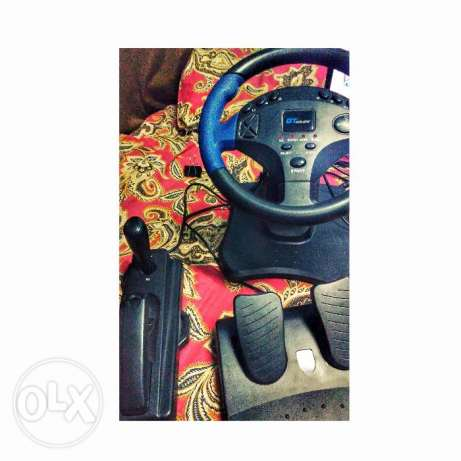 Gt Coupe Steering Joystick - for PC / ps1 /ps2 /ps3 / PS