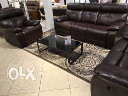 leather sofa set for sale for 3300sr actual price for 5547sr