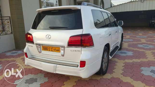Lexus LX570 car is for sale