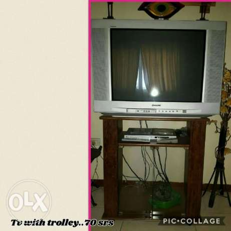 sed TV with trolley - only for SR 120.