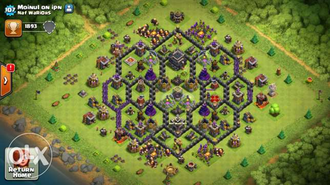 Clash of Clan Id Sell..Town Hall 9 Max..