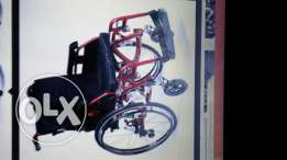 red K-chair Enigma Wheelchair