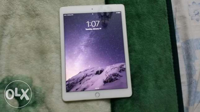 للبيع IPAD AIR 2 64GB وأي فاي و شريحه