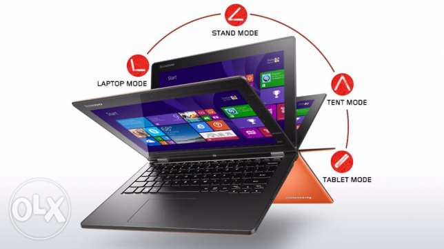 lenovo yoga laptop i7, ram 8gb , hard 1tb ,win 10 جدة -  4