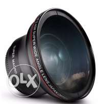 DSLR Wide Angle Lens w/d Macro - 67mm thread size