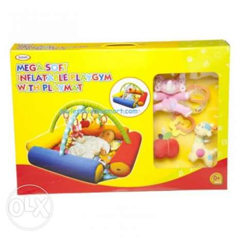 baby mega soft playgym with playmat