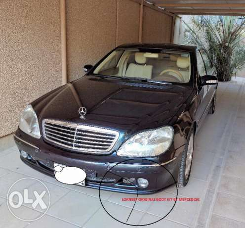 Low mileage Mercedes S-500 for sale الرياض -  4