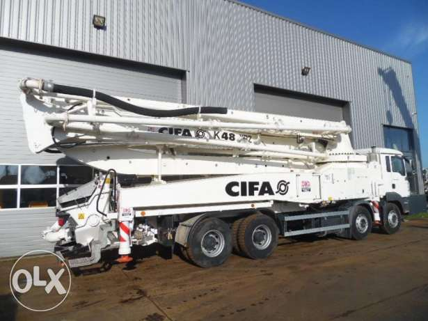 MAN TGA 41.430 8x4 Cifa K48-XRZ Concrete pump NEW/UNUSED