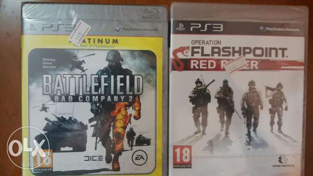 BattleField Bad company And Operation Flash point Red River
