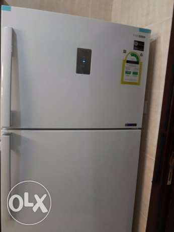 Samsung refrigerator 17.85ft -excellent condition- New- Travel reason الرياض -  1